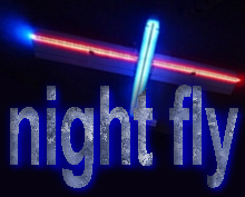 How to setup a n RC plane for flying at night  @ www.jamesandtracy.co.uk